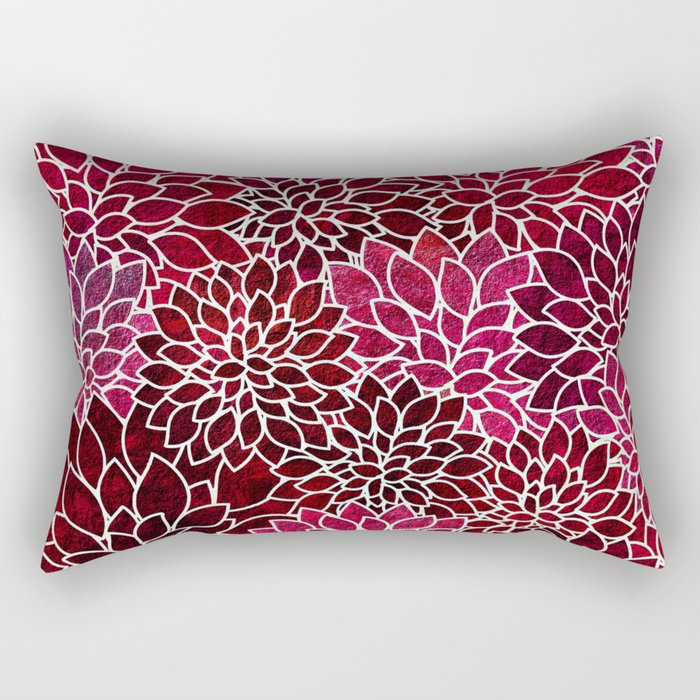 Floral Abstract 2 Rectangular Pillow