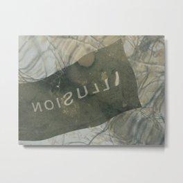 Poetic Illusion Metal Print