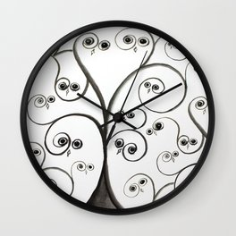 owltree Wall Clock