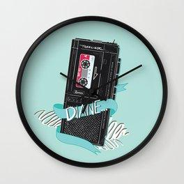 Diane it is: Wall Clock