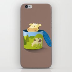 The moo box iPhone Skin