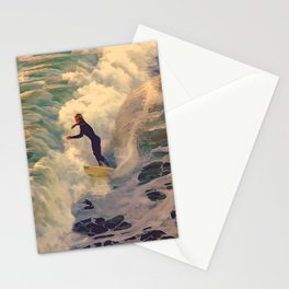 Riding the Sea Stationery Cards