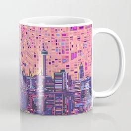 san antonio city skyline abstract 5 Coffee Mug
