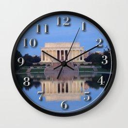Lincoln Memorial Wall Clock
