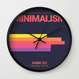 MINIMALISM #2 Wall Clock