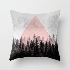 Woods 3X Throw Pillow