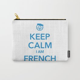 KEEP CALM I AM FRENCH Carry-All Pouch