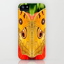Meadow Argus Butterfly iPhone Case