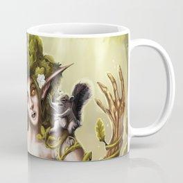 Dryad Squirrel taxi Coffee Mug