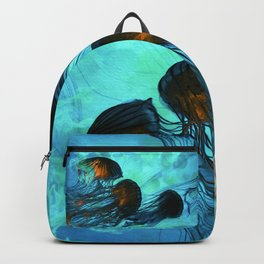 Jellyfish of the Under Sea Volcano Backpack