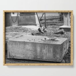 Old Grave Serving Tray