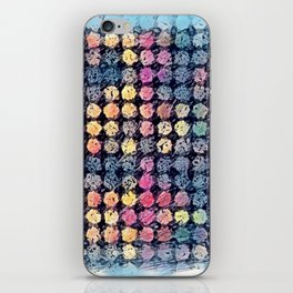 Sketchy Dots iPhone Skin