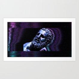 BOXER TRANSCENDS Art Print
