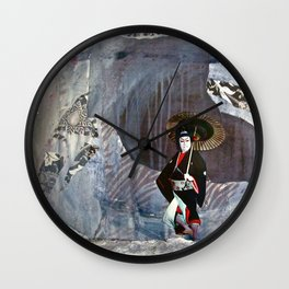 Out of the Cave, Into the Storm, the Hero Prepares for the Next Battle Wall Clock