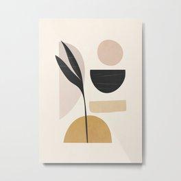 Minimal Abstrac Shapes 12 Metal Print