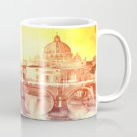 takmaj Mugs featuring Rome by takmaj