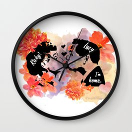 I Love Lucy - Lucy and Ricky Wall Clock