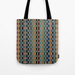 Moroccan Braided Abstract Tote Bag