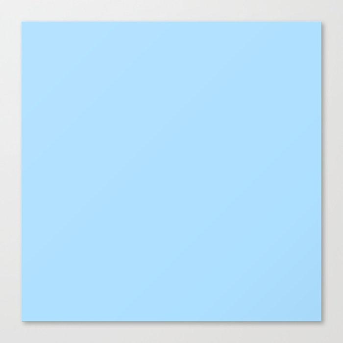 Solid Pale Light Blue Color Leinwanddruck
