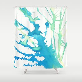 Splattered Shower Curtain