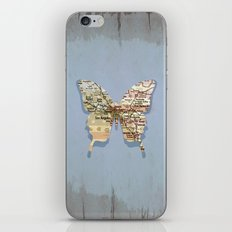 Los Angeles Butterfly iPhone & iPod Skin