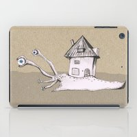 snail iPad Cases featuring Snail by Bwiselizzy