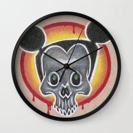 Dia de el Mouse Wall Clock