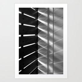 Game of light Art Print