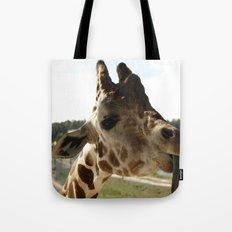 Giraffe Attitude  Tote Bag