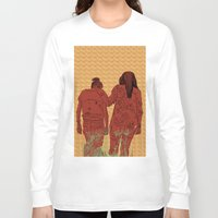 girls Long Sleeve T-shirts featuring Girls by Nahal