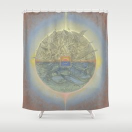 The Eclipse Shower Curtain