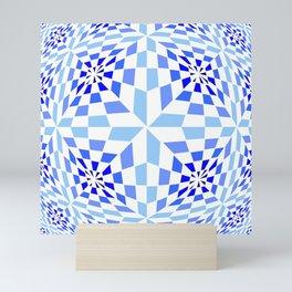 Tribute to Vasarely 12 Mini Art Print