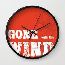 Windy Days Wall Clock