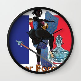 Never Forget France Colonization by: Matthew J Powell Wall Clock