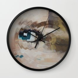 Evolution of LadyDi Wall Clock