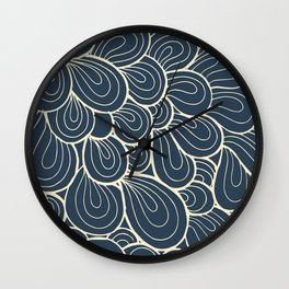 Abstract Pattern V Wall Clock