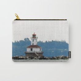 Indian Head Lighthouse from across the Bay Carry-All Pouch