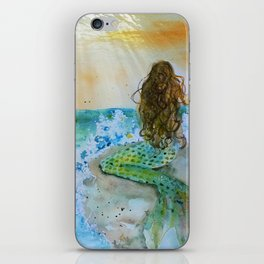 Final Joy Mermaid iPhone Skin