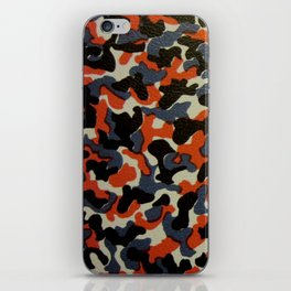 Berlin U-Bahn/S-Bahn Seat Cover Camouflage Pattern iPhone Skin