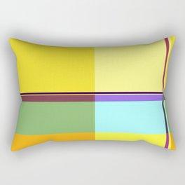 CASUAL YELLOW GEOMETRIC Rectangular Pillow