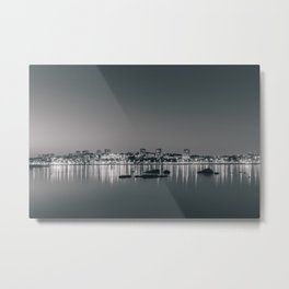 Porto in Black and White II Metal Print