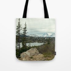 Yukon Mountains Tote Bag