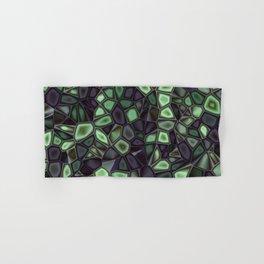 Fractal Gems 04 - Emerald Dreams Hand & Bath Towel