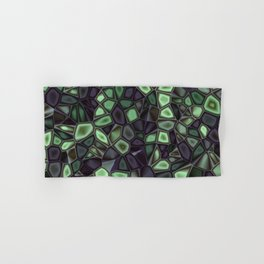 Fractal Gems 04 - Emerald Dreams Hand & Bath Towel