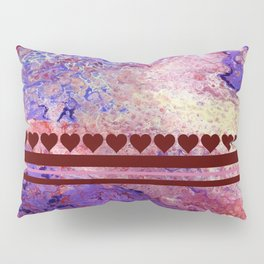 Purple and Red Cosmos Pillow Sham
