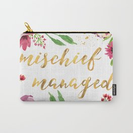 Mischief Managed Garden Carry-All Pouch