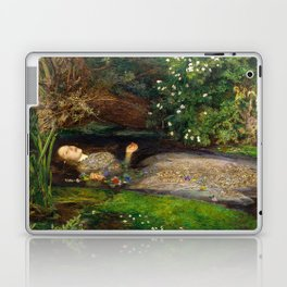 Ophelia Painting by John Everett Millais Laptop & iPad Skin