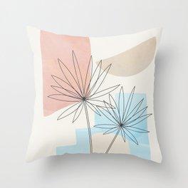 Leaf Design 05 Throw Pillow