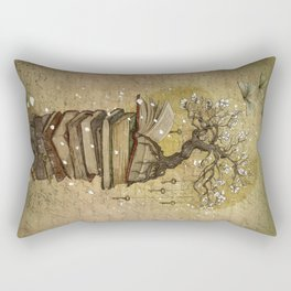 Knowledge is the key Rectangular Pillow