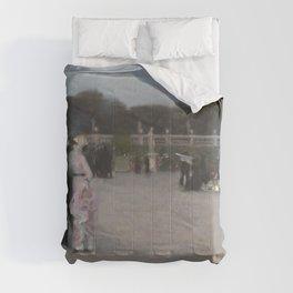 John Singer Sargent - In the Luxembourg Gardens Comforters